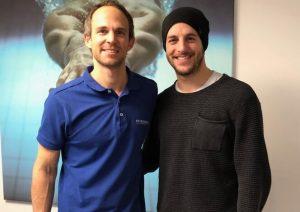 Dr.Bernd Hiller und Nico Mayer